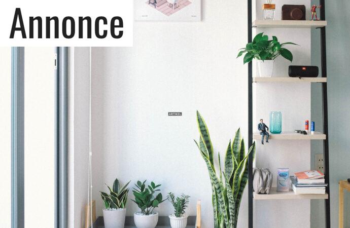 Sådan sparer du plads i boligen på en økonomisk måde