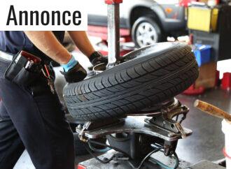 Nemmere dækmontering på værkstedet